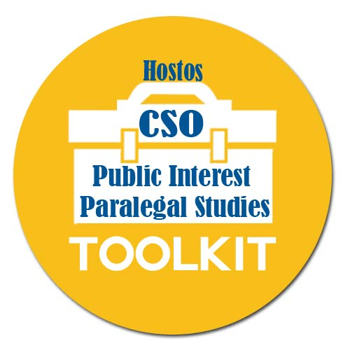 Public Interest Paralegal Studies Toolkit