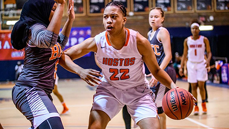 Kayla Wilson, Hostos Women's Basketball MVP