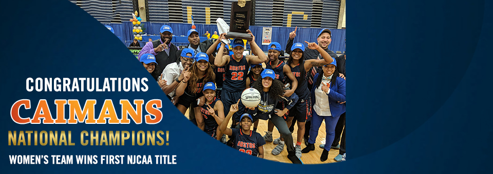 Women's Basketball Team Wins First National Title