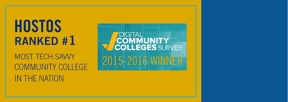 Hostos Wins First Place Overall In National Technology Survey