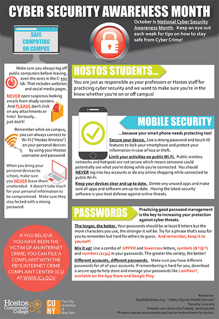 Cyber Security at Hostos (Students)