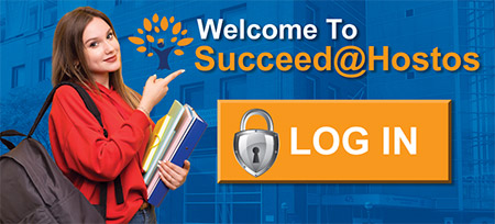 Welcome to Succeed@Hostos. LOG IN