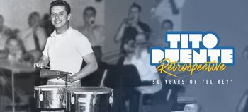 "The Hostos Center for the Arts & Culture will host ""Tito Puente: A Fifty-Year Retrospective of 'El Rey,' a multi-day, in-depth examination of his career through concerts, panels, film, dance, and more"
