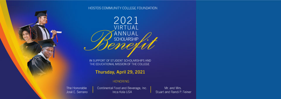 2021 Virtual Annual Scholarship Benefit